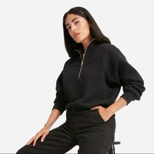 NWT Everlane Oversized half zip sweatshirt
